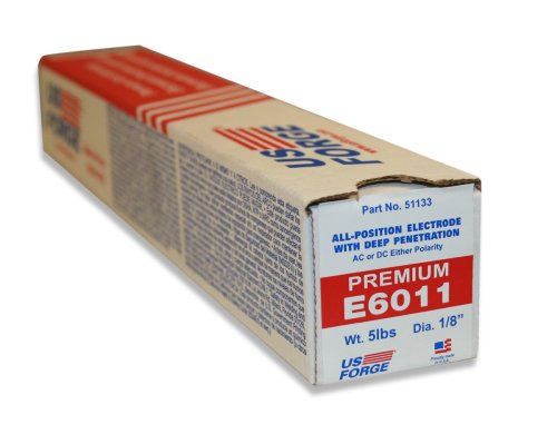 US Forge Welding Electrode E6011 1/8-Inch by 14-Inch 5-Pound Box #51133