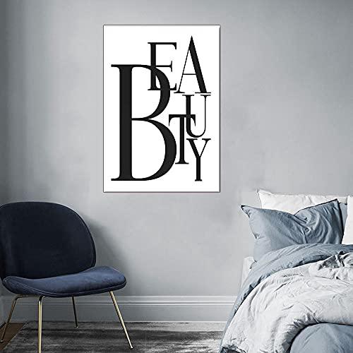 CloudShang Pestañas Negro Labios Mujeres Poster Sencillez Perfume Libros Poster Moda Pared Arte Impresiones Moderno Salón Belleza Chica Habitación Decoracion De la Lona Arte Vogue Pintura F23055