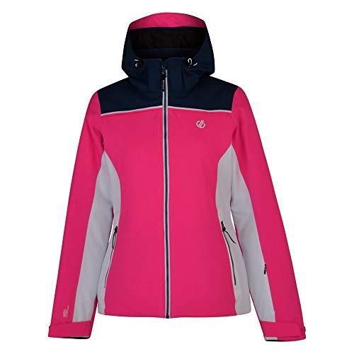 Dare 2b Validate Damen Skijacke Gr. 38, Cyber Pink/Blue Wing