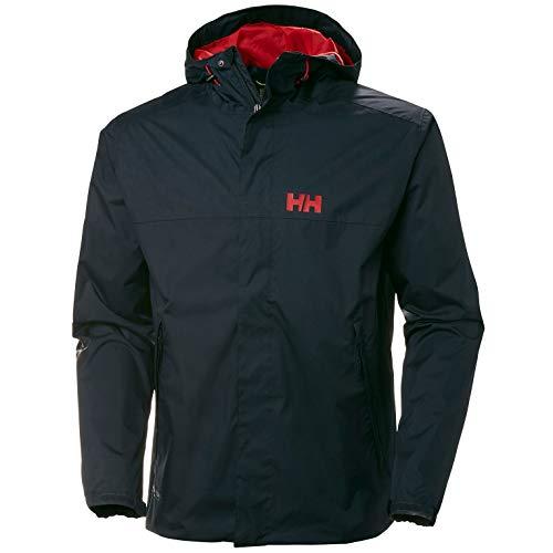 Helly Hansen 64032, Chaqueta Impermeable Unisex Adulto, Unisex Adulto, 64032, Navy, Small