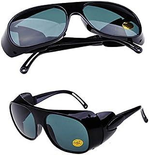 Nadalan Gris Gafas de Soldadura Gafas de protección láser