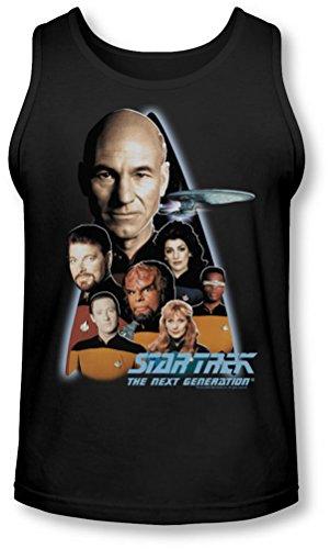 Star Trek - - The Next Generation Tank-Top pour hommes, Large, Black