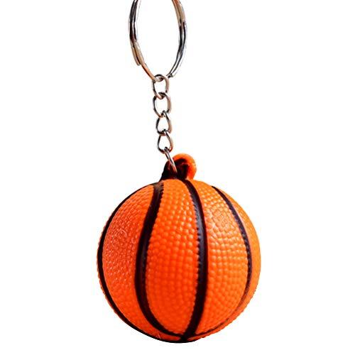 YeahiBaby 12pcs Deportes Llavero Baloncesto Colgante Llavero Bolso Regalo Decoración del Coche (Color al Azar)