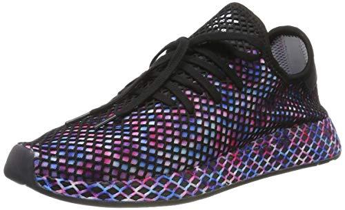 adidas Herren Deerupt Runner Sneaker, Schwarz (Core Black/Core Black/Footwear White 0), 44 EU