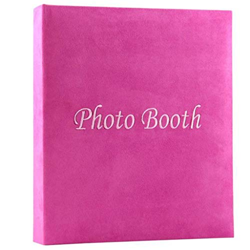 WANGCY Goldene Hochzeit Fotoalbum Reise Fotoalbum Sammelalbum Rosa Innenseite Home Album Handgemachte DIY Paste Foto-Sammlung Für Geburtstagsgeschenk