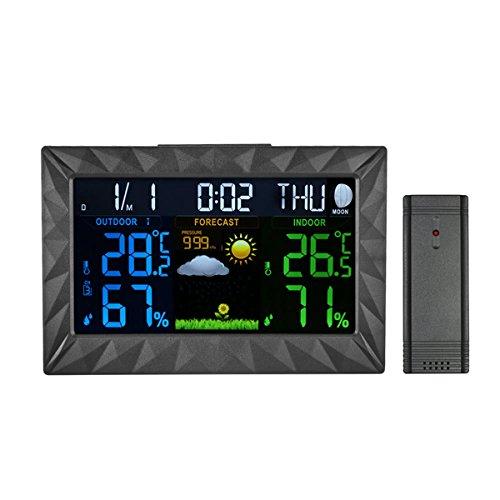 Stazione Meteorologica con ampio Schermo LCD a...