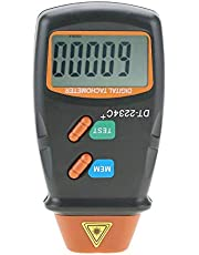 Tacómetro Digital Sin Contacto LCD,Tacómetro Fotográfico,Mini Medidor Probador De RPM Portátil,Para Motor, Ruedas, Torno, Ventilador Eléctrico, Fabricación De Papel