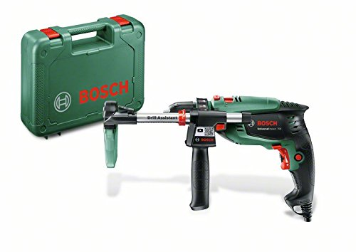Bosch Home and Garden 0603131001 Taladro percutor, 700 W, 230 V, Negro, Verde