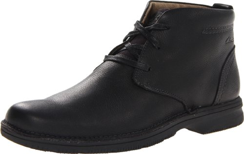 Hot Sale Clarks Men's Senner Ave Boot,Black Tumbled Leather,11WUS
