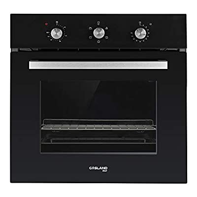 "GASLAND Chef 24"" 2.3Cu.f Multi-functional Built-in Electric Single Wall Oven, 24-Inch 240V 2000W 6 Cooking Function Electric Oven with Mechanical Knobs Control and 3-Layer Glass Window"