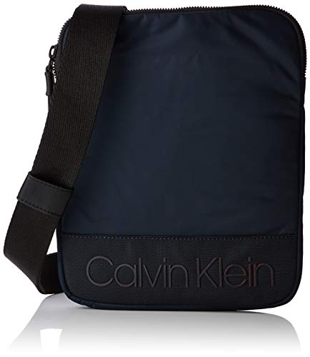 Calvin Klein Shadow Flat Crossover, K50K504393. Uomo, Nero (Navy), 2x26x21 centimeters (B x H x T)