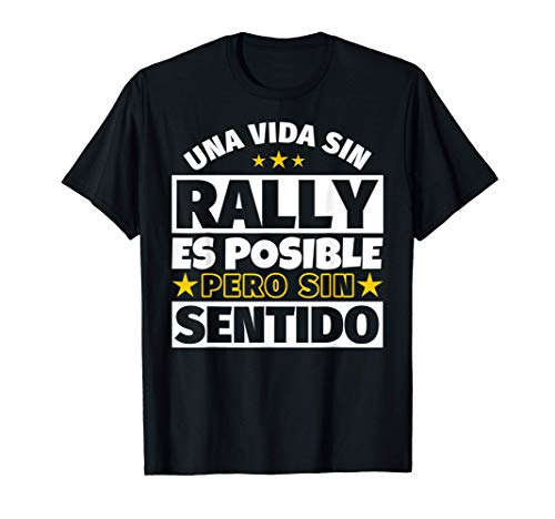 Rally regalo gracioso Camiseta