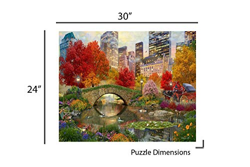 Springbok Puzzles Unique Cut Interlocking Pieces 1000 Piece Jigsaw Puzzle Large 30 by 24 inch Puzzle The Cottage Lighthouse Made in USA