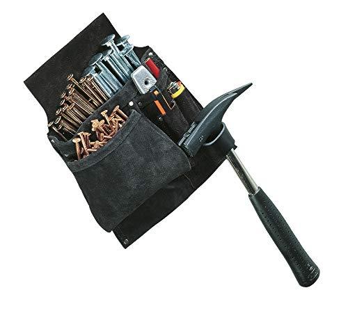 Engelbert Strauss 8240100 Leder Werkzeugtasche für Koppel, Werkzeug Gürteltasche