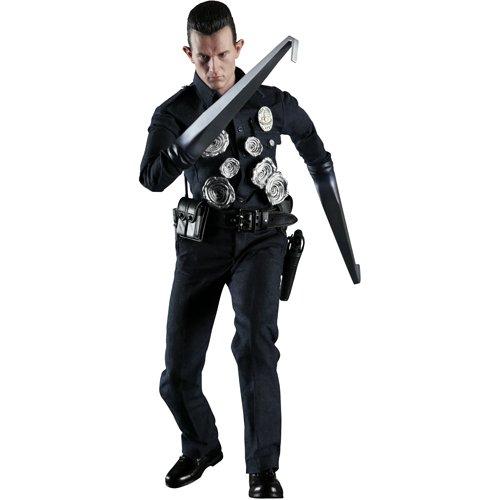 T-1000 Terminator Polizist Cop 1/6 Figur 30 cm Hot Toys