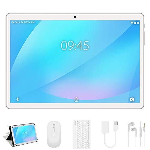 Tablet 10 Pulgadas, Android 9.0 YESTEL Tablets, 4 GB de RAM, 64 GB Ampliables hasta 128 GB,...
