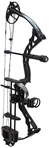 Diamond Archery Infinite Edge Pro Bow Package, Black Ops, Left Hand