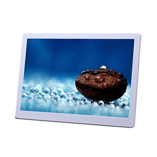 Cadre Photo électronique 15 Pouces, écran Haute définition LED Album Photo numérique Batterie au Lithium Ultra-Mince vidéo Machine Musique Calendrier Photo