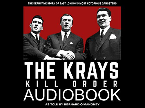 The Krays: Kill Order audiobook cover art