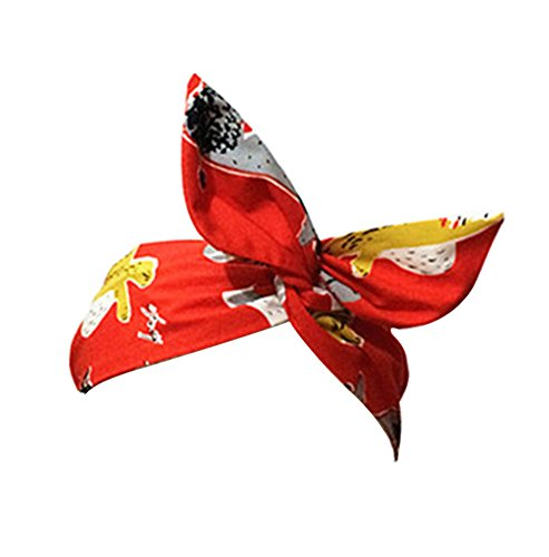 Le New Moderne Style Rétro Head Wrap / Band Hair For Girls / Femme (Rouge)