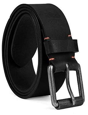 Timberland PRO Men's 40mm Workwear Leather Belt, black/Roller buckley, 36