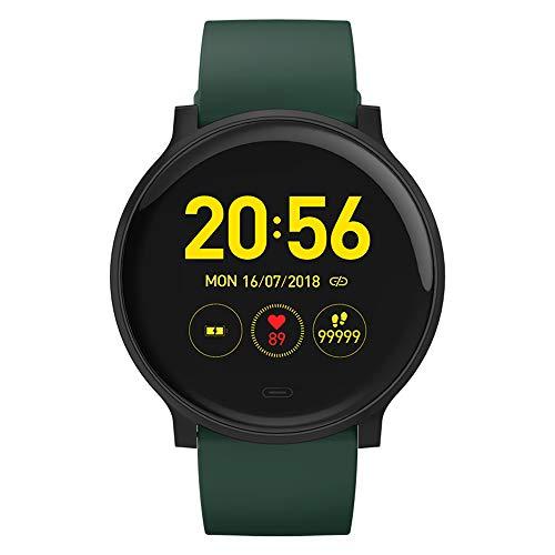Smartwatch, Reloj Deportivo Ultrafino A Prueba De Agua IP68, Con Frecuencia Cardíaca, Sueño, Monitoreo De La Salud, Información Inteligente Para Recordar A Hombres Y Mujeres Corriendo Podómetro,B