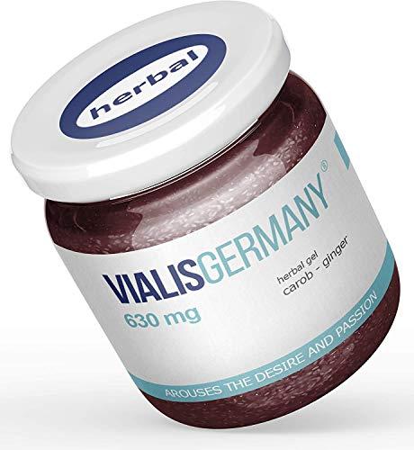 VialisGermany® 630mg | SOFORT EFFEKT | Energie & Kraft für den Mann aus 5 natürlichen Inhaltsstoffen INGWER GINSENG JOHANNISBROT MACA BRENNNESSEL