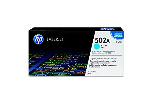 HP 502A (Q6471A) Blau Original Toner für HP Color Laserjet 3600