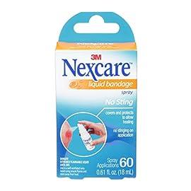 Nexcare No-Sting Liquid Bandage .61 Fluid Ounces 1 No-Sting Liquid Bandage .61 Fluid Ounces - 4 PACK