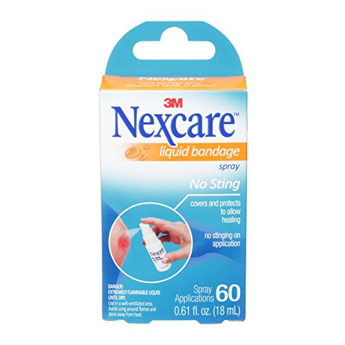 Nexcare No-Sting Liquid Bandage .61 Fluid Ounces, Clear (118-03)