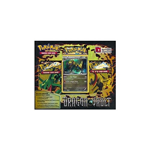 Haxorus: Pokemon Card Game Dragons Vault Special Edition 3-Pack [1 Booster Packs & 1 Promo Card]