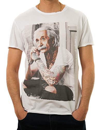 New Collection Camiseta Einstein con Estampa Moderna