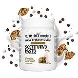 Sustitutivo de comidas NUTRI DIET complete | sabor a leche y galletas | 500g, 14 comidas completas | ricas en vitaminas y minerales