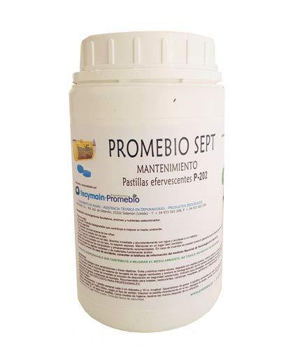 Pastillas biológicas para eliminar materia orgánica, grasas y olores en