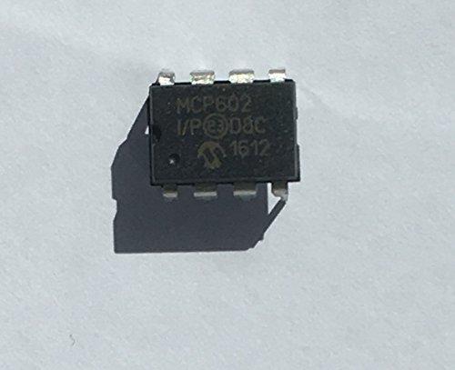 MCP602-I/P Operationele versterker 2.8 MHz 2.7÷5.5VDC kanalen2 DIP8