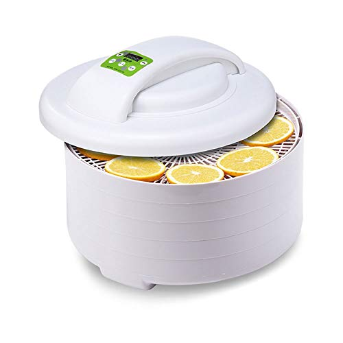 Best Buy! LEFJDNGB Electric Food Dehydrator,adjustable Timer and Temperature Control,dehydrator Mach...
