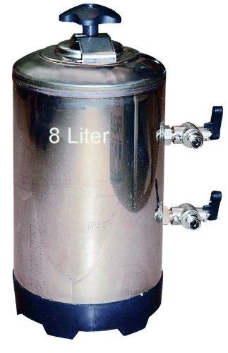 Wasserenthärter Entkalker 8 Liter - für Espressomaschine (Bsp. Rancilio), Geschirrspülmaschine, Aquarium