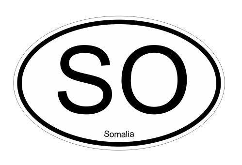 Vinilo adhesivo ovalado Somalia SO