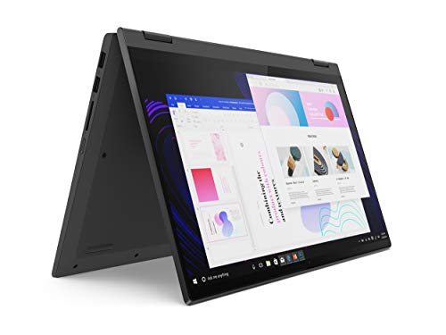 "2021 Lenovo IdeaPad Flex 5 2-in-1 14"" FHD IPS Touchscreen Laptop , AMD Ryzen 3 4300U Processor, 4GB RAM, 128GB SSD, HDMI, WiFi, Bluetooth, Webcam, Windows 10 S, Graphite Gray, W/ IFT Accessories"