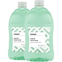 2-Pack Solimo Mango and Coconut Water Gentle & Mild Liquid Hand Soap
