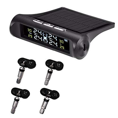 B Blesiya Sensor Integrado Del Sistema de Control de Neumáticos de Alarma de Monitor de Presión de Neumáticos de Coche