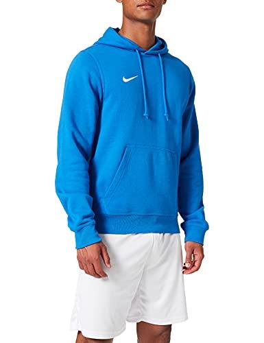 Nike Herren Kapuzenpullover Team Club, Blau (Obsidian/White), L