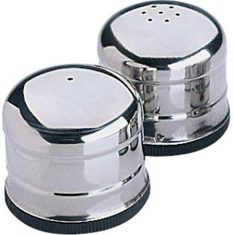 WIN WARE Jumbo Salt And Pepper Shaker Dispenser Set Salt And Pepper Holders Pourers Are A Great Addition To Any Tabletop Mini Shakers Included Only