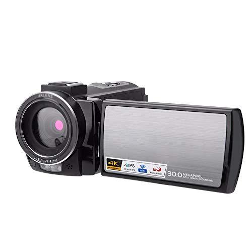 Z-XILI Cámara de vídeo digital de 3 pulgadas de pantalla táctil 16x Zoom inteligente 30MP Apoyo visión nocturna por infrarrojos del mando a distancia, con la exhibición de TFT Cámara de belleza Tempor