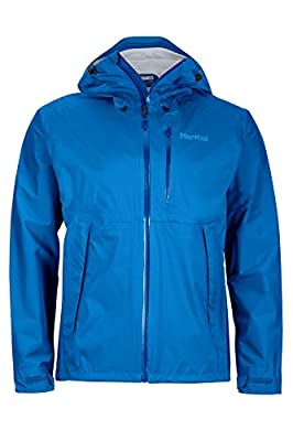 Marmot Men's Magus Lightweight Waterproof Rain Jacket, Large, True Blue