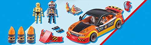 PLAYMOBIL Stuntshow 70551 Crashcar, Para niños de 4 a 10 años