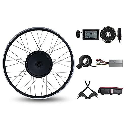 Umrüstsatz für Elektrofahrräder, 48V 1000W Ebike Kit, 27,5 '' Hinterrad, mit LCD S900 Display, bürstenloser getriebeloser Nabenmotor, Ebike Umbausatz
