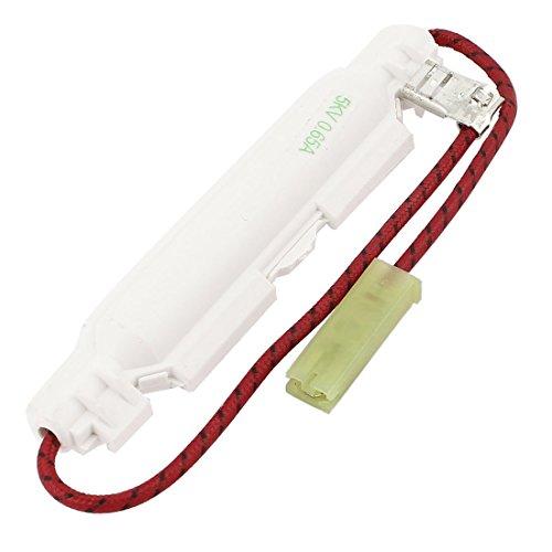 Mikrowellensicherung 0,65 A/5 kv mit Kabel und Faston 6,3/4,8 mm