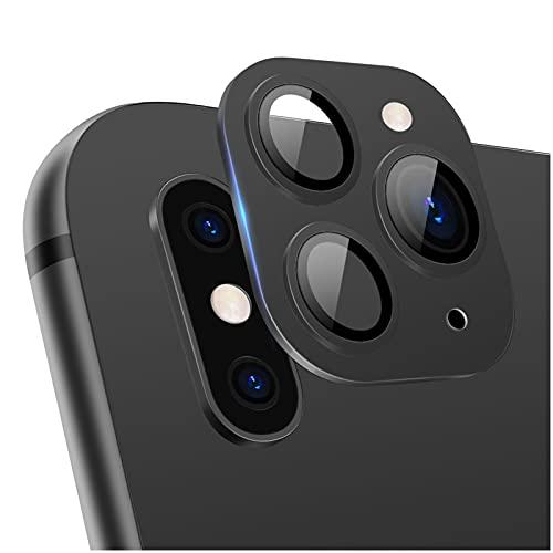 LucBuy Protector de Lente de Cámara para iPhone XR/X/XS/XS MAX Convertir a iPhone 11/11 Pro/11 Pro MAX, Upgrade Protector de Lente de Cámara Trasera de Vidrio Templado Transparente Ultra Delgado ✅