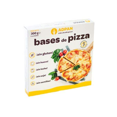 Adpan Bases Pizza 300g 2Uni (A.C.) Adpan per stuk (1 x 300 g)